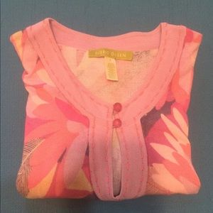 Floral Pink Top Small